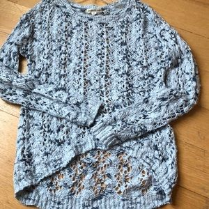 Tucker and Tate Girls' loosely knit sweater